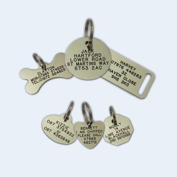 Brass Dog Tags For Pets